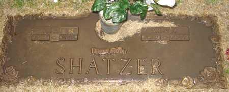 SHATZER, RUSSELL B. - Maricopa County, Arizona | RUSSELL B. SHATZER - Arizona Gravestone Photos