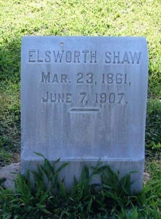 SHAW, ELSWORTH - Maricopa County, Arizona | ELSWORTH SHAW - Arizona Gravestone Photos