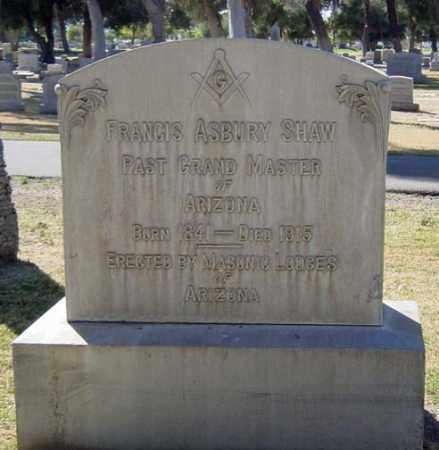 SHAW, FRANCIS ASBURY - Maricopa County, Arizona | FRANCIS ASBURY SHAW - Arizona Gravestone Photos