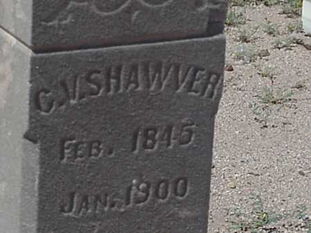 SHAWVER, CLEMEN VAUGHN - Maricopa County, Arizona | CLEMEN VAUGHN SHAWVER - Arizona Gravestone Photos