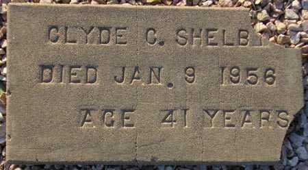 SHELBY, CLYDE C. - Maricopa County, Arizona | CLYDE C. SHELBY - Arizona Gravestone Photos