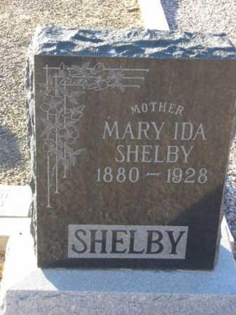 GROSS SHELBY, MARY IDA - Maricopa County, Arizona | MARY IDA GROSS SHELBY - Arizona Gravestone Photos