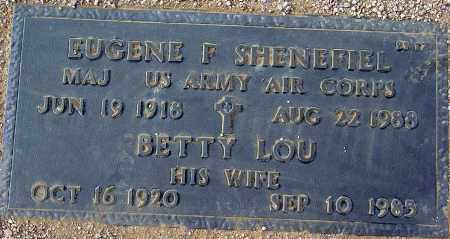 SHENEFIEL, EUGENE F. - Maricopa County, Arizona | EUGENE F. SHENEFIEL - Arizona Gravestone Photos