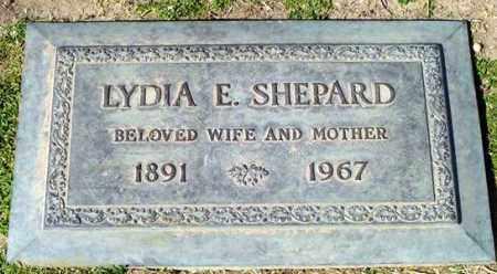 SHEPARD, LYDIA E. - Maricopa County, Arizona   LYDIA E. SHEPARD - Arizona Gravestone Photos