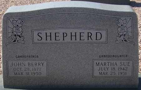 SHEPHERD, MARTHA SUE - Maricopa County, Arizona | MARTHA SUE SHEPHERD - Arizona Gravestone Photos