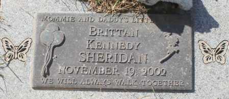 SHERIDAN, BRITTAN KENNEDY - Maricopa County, Arizona | BRITTAN KENNEDY SHERIDAN - Arizona Gravestone Photos