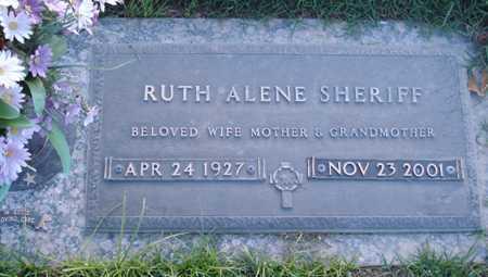 SHERIFF, RUTH ALENE - Maricopa County, Arizona | RUTH ALENE SHERIFF - Arizona Gravestone Photos