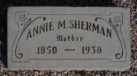 SHERMAN, ANNIE M(ATILDA) - Maricopa County, Arizona   ANNIE M(ATILDA) SHERMAN - Arizona Gravestone Photos