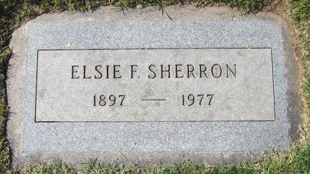 SHERRON, ELSIE F. - Maricopa County, Arizona | ELSIE F. SHERRON - Arizona Gravestone Photos
