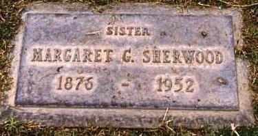 SHERWOOD, MARGARET G. - Maricopa County, Arizona | MARGARET G. SHERWOOD - Arizona Gravestone Photos