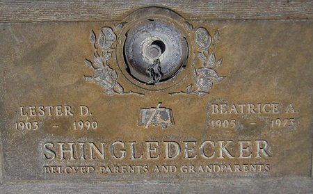 SHINGLEDECKER, LESTER D. - Maricopa County, Arizona   LESTER D. SHINGLEDECKER - Arizona Gravestone Photos
