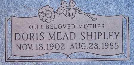 SHIPLEY, DORIS MEAD - Maricopa County, Arizona   DORIS MEAD SHIPLEY - Arizona Gravestone Photos