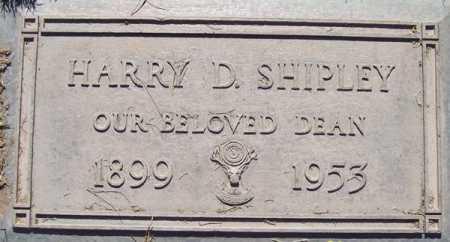 SHIPLEY, HARRY D. - Maricopa County, Arizona | HARRY D. SHIPLEY - Arizona Gravestone Photos