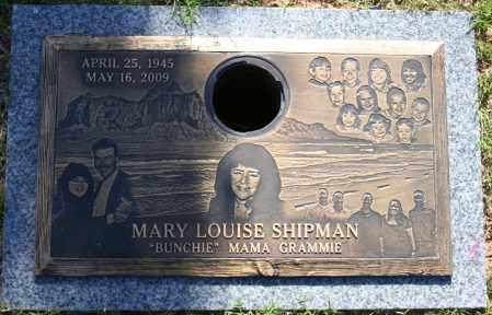 SHIPMAN, MARY LOUISE - Maricopa County, Arizona   MARY LOUISE SHIPMAN - Arizona Gravestone Photos