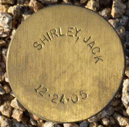 SHIRLEY, JACK - Maricopa County, Arizona | JACK SHIRLEY - Arizona Gravestone Photos