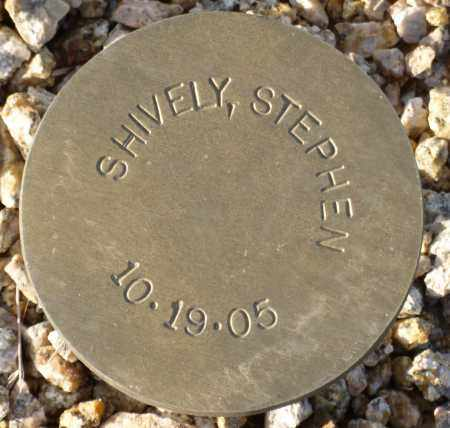 SHIVELY, STEPHEN - Maricopa County, Arizona | STEPHEN SHIVELY - Arizona Gravestone Photos