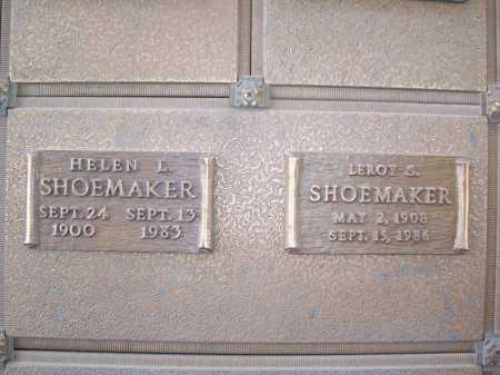 LAPIERRE SHOEMAKER, HELEN - Maricopa County, Arizona   HELEN LAPIERRE SHOEMAKER - Arizona Gravestone Photos