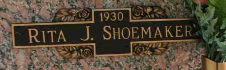 SHOEMAKER, RITA J - Maricopa County, Arizona | RITA J SHOEMAKER - Arizona Gravestone Photos