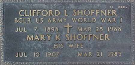 SHOFFNER, CLIFFORD L. - Maricopa County, Arizona | CLIFFORD L. SHOFFNER - Arizona Gravestone Photos