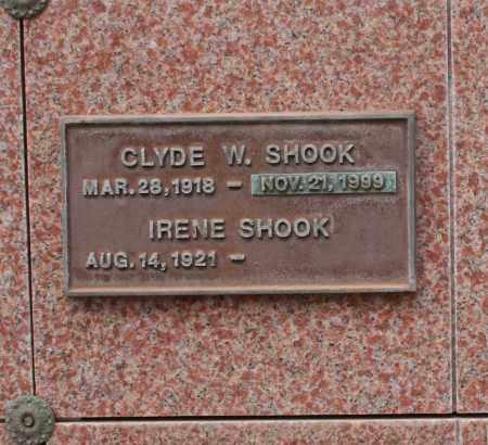 SHOOK, IRENE - Maricopa County, Arizona | IRENE SHOOK - Arizona Gravestone Photos