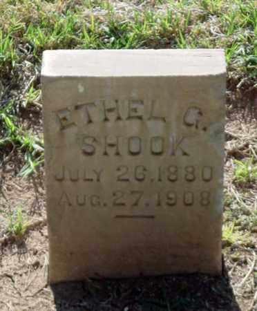 SHOOK, ETHEL G. - Maricopa County, Arizona | ETHEL G. SHOOK - Arizona Gravestone Photos