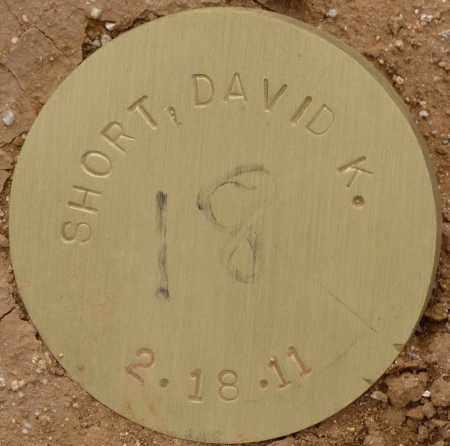 SHORT, DAVID K. - Maricopa County, Arizona | DAVID K. SHORT - Arizona Gravestone Photos
