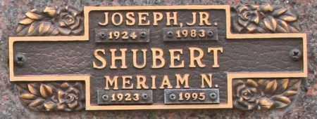 SHUBERT, JOSEPH, JR. - Maricopa County, Arizona | JOSEPH, JR. SHUBERT - Arizona Gravestone Photos