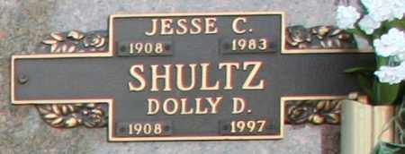 SHULTZ, JESSE C - Maricopa County, Arizona | JESSE C SHULTZ - Arizona Gravestone Photos