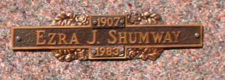 SHUMWAY, EZRA J - Maricopa County, Arizona   EZRA J SHUMWAY - Arizona Gravestone Photos