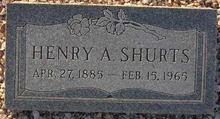 SHURTS, HENRY A. - Maricopa County, Arizona | HENRY A. SHURTS - Arizona Gravestone Photos