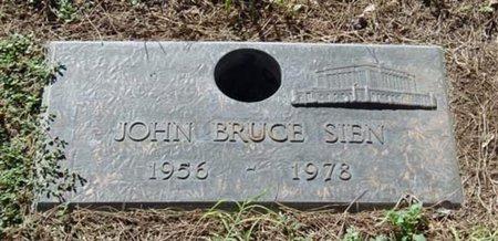 SIEN, JOHN BRUCE - Maricopa County, Arizona   JOHN BRUCE SIEN - Arizona Gravestone Photos