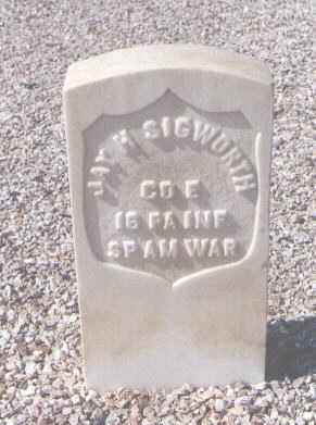 SIGWORTH, JAY H. - Maricopa County, Arizona   JAY H. SIGWORTH - Arizona Gravestone Photos