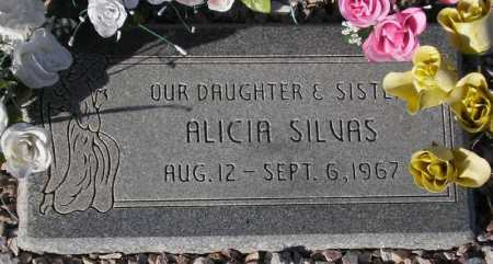 SILVAS, ALICIA - Maricopa County, Arizona | ALICIA SILVAS - Arizona Gravestone Photos