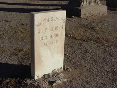 SILVERS, MARY A - Maricopa County, Arizona   MARY A SILVERS - Arizona Gravestone Photos
