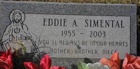 SIMENTAL, EDDIE A. - Maricopa County, Arizona | EDDIE A. SIMENTAL - Arizona Gravestone Photos