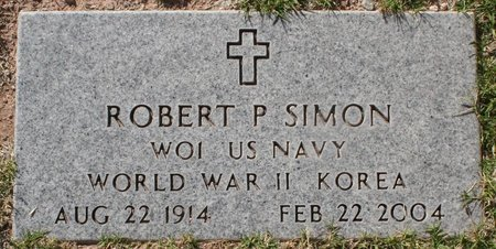 SIMON, ROBERT P - Maricopa County, Arizona | ROBERT P SIMON - Arizona Gravestone Photos