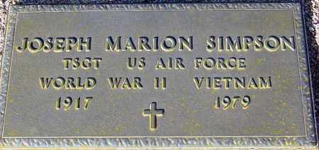 SIMPSON, JOSEPH MARION - Maricopa County, Arizona | JOSEPH MARION SIMPSON - Arizona Gravestone Photos