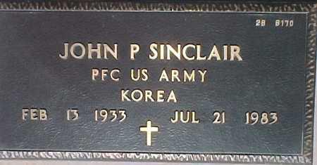 SINCLAIR, JOHN P. - Maricopa County, Arizona   JOHN P. SINCLAIR - Arizona Gravestone Photos