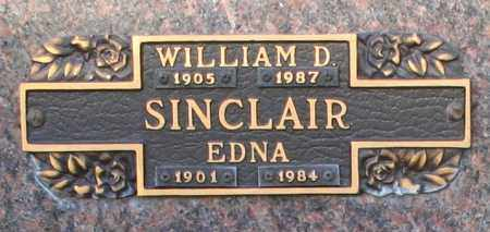 SINCLAIR, EDNA - Maricopa County, Arizona | EDNA SINCLAIR - Arizona Gravestone Photos