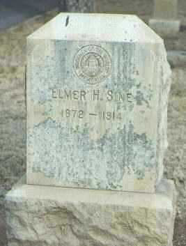 SINE, ELMER H. - Maricopa County, Arizona | ELMER H. SINE - Arizona Gravestone Photos