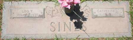 SINES, CATHERINE V. - Maricopa County, Arizona | CATHERINE V. SINES - Arizona Gravestone Photos