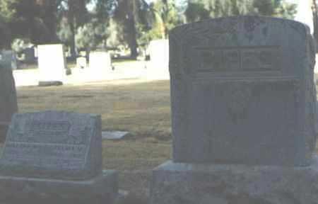 SIPES, WALTER W. - Maricopa County, Arizona | WALTER W. SIPES - Arizona Gravestone Photos