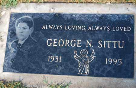 SITTU, GEORGE N. - Maricopa County, Arizona | GEORGE N. SITTU - Arizona Gravestone Photos