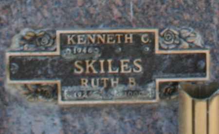 SKILES, KENNETH C - Maricopa County, Arizona | KENNETH C SKILES - Arizona Gravestone Photos