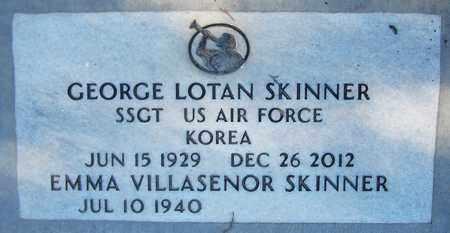 SKINNER, GEORGE LOTAN - Maricopa County, Arizona | GEORGE LOTAN SKINNER - Arizona Gravestone Photos