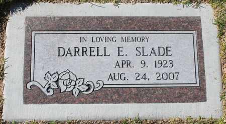 SLADE, DARRELL E - Maricopa County, Arizona   DARRELL E SLADE - Arizona Gravestone Photos