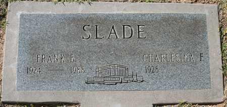 SLADE, CHARLESINA F - Maricopa County, Arizona | CHARLESINA F SLADE - Arizona Gravestone Photos