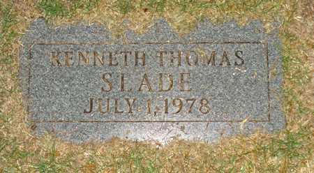 SLADE, KENNETH THOMAS - Maricopa County, Arizona   KENNETH THOMAS SLADE - Arizona Gravestone Photos