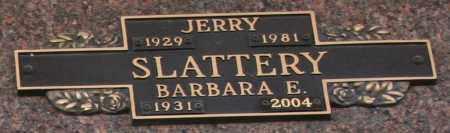 SLATTERY, JERRY - Maricopa County, Arizona | JERRY SLATTERY - Arizona Gravestone Photos