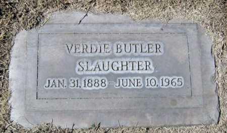 BUTLER SLAUGHTER, VERDIE - Maricopa County, Arizona | VERDIE BUTLER SLAUGHTER - Arizona Gravestone Photos